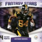 2018 Score Football Card Fantasy Stars #18 Antonio Brown