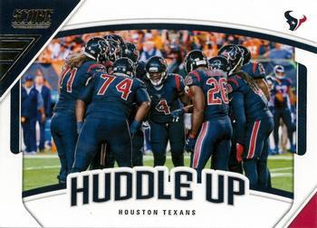 2018 Score Football Card Huddle Up #3 Houston Texans