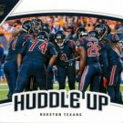 2018 Score Football Card Huddle Up #3 Houston Texans