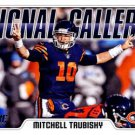 2018 Score Football Card Signal Callers #6 Mitchell Trubisky