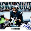 2018 Score Football Card Signal Callers #8 Nick Foles