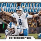 2018 Score Football Card Signal Callers #10 Matthew Stafford