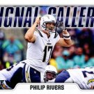 2018 Score Football Card Signal Callers #17 Phillip Rivers