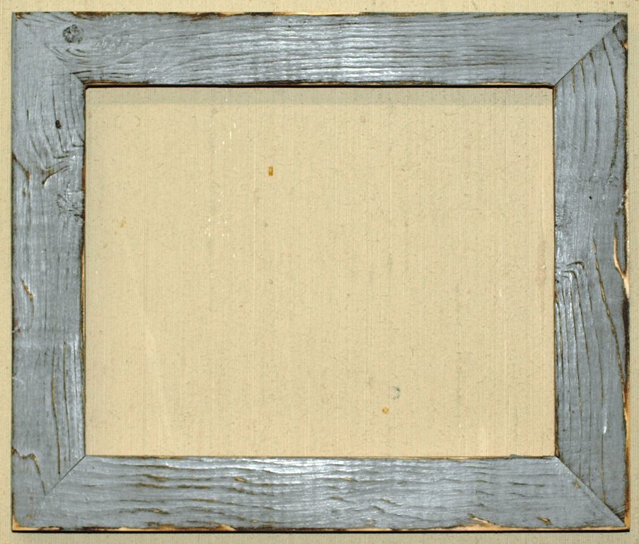 """5 x 5 1-1/2"""" Gray Distressed Picture Frame"""