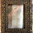 "4 x 6 1-3/4"" Acid Wash Gold Picture Frame"