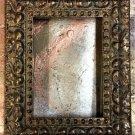 "8 x 8 1-3/4"" Acid Wash Gold Picture Frame"
