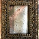 "8 x 10 1-3/4"" Acid Wash Gold Picture Frame"