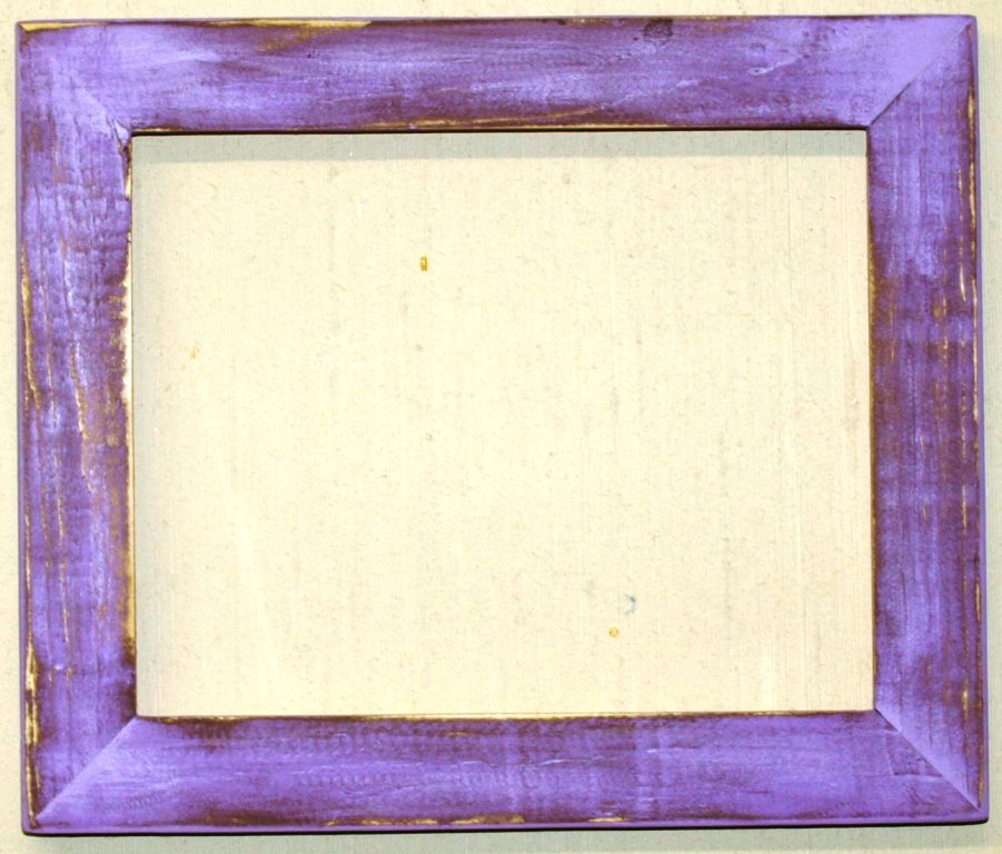 """10 x 20 1-1/2"""" Violet Distressed Picture Frame"""