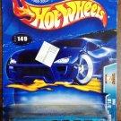 2003 Hot Wheels #149 Bus (BENT CARD)