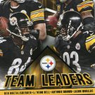 2015 Score Football Card Team Leaders #9 Ben Roethlisberger