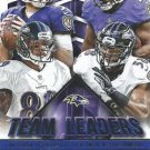 2015 Score Football Card Team Leaders #11 Baltimore Ravens