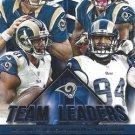 2015 Score Football Card Team Leaders #32 St Louis Rams
