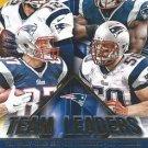 2015 Score Football Card Team Leaders Gold #1 New England Patriots