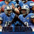 2015 Score Football Card Team Leaders Red #14 Detroit Lions