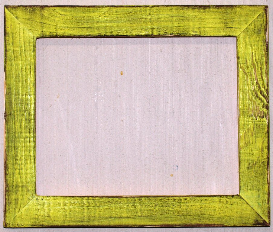 """10 x 13 1-1/2"""" Neon Light Distressed Picture Frame"""