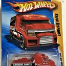 2010 Hot Wheels #18 Rapid Response RED