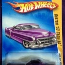 2009 Hot Wheels #15 Custom 53 Cadillac PURPLE
