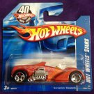 2008 Hot Wheels Short Card #53 Screaming Hauler