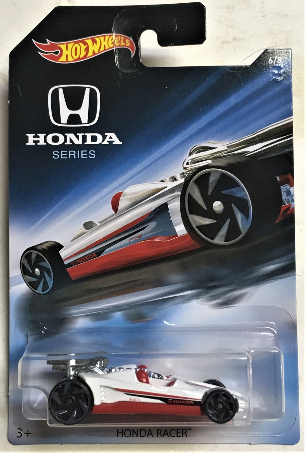 2018 Hot Wheels Honda #6 Honda Racer