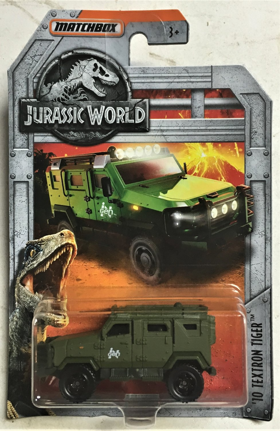 MATCHBOX 2018  JURASSIC WORLD ´10 TEXTRON TIGER NEU/&OVP