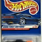 2000 Hot Wheels First Editions #4 Pro Stock Firebird