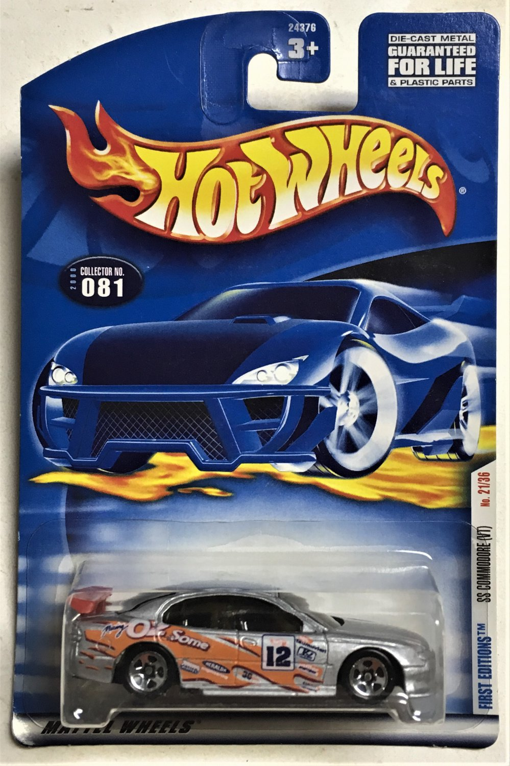 2000 Hot Wheels First Editions #21 SS Commodore
