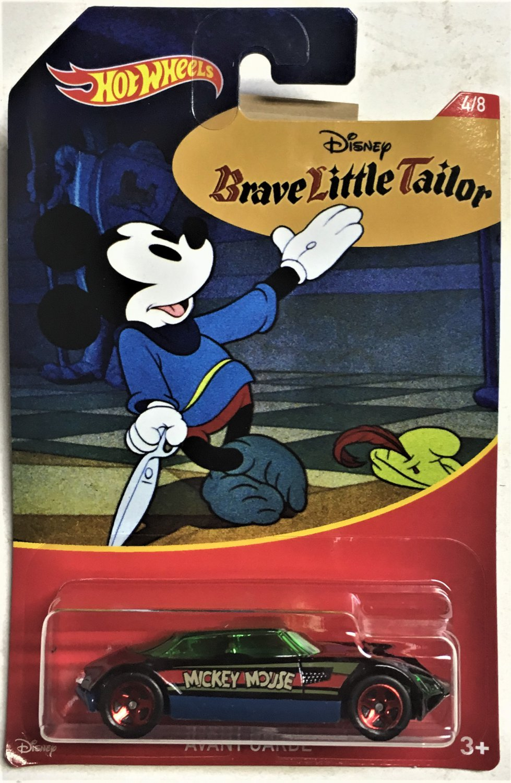 2018 Hot Wheels Mickey Mouse #4 Avant Garde