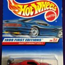 1999 Hot Wheels First Editions #5 Old Aurora GTS-1 RED