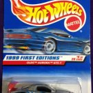 1999 Hot Wheels First Editions #5 Old Aurora GTS-1 SILVER