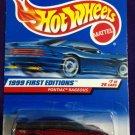 1999 Hot Wheels First Editions #7 Pontiac Rageous