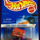 1998 Hot Wheels First Editions #2 Slide Out (Burnout Car on Card)