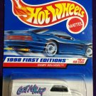 1998 Hot Wheels First Editions #10 Dairy Delivery (Blue car on card)