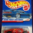 1998 Hot Wheels First Editions #12 Lakester (Blue car on card)