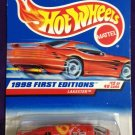 1998 Hot Wheels First Editions #12 Lakester (Red car on card)