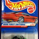 1998 Hot Wheels First Editions #21 Go Kart (Red car on Card