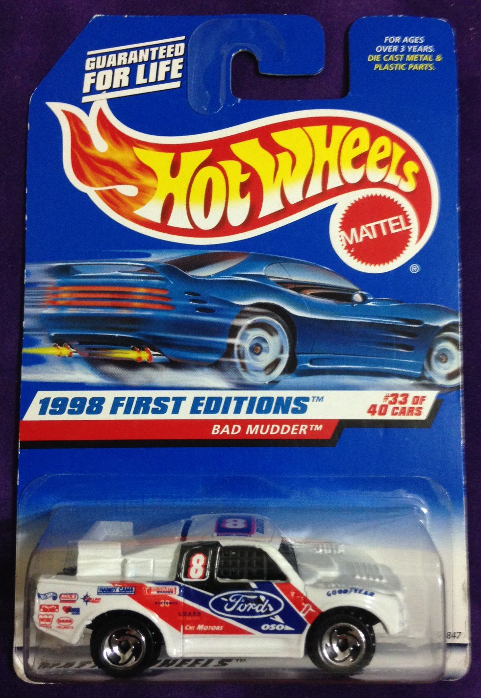 1998 Hot Wheels First Editions #33 Bad Mudder
