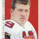 1992 Upper Deck Football Card #420 Tony Sacca