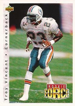 1992 Upper Deck Football Card #423 Troy Vincent