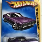 2009 Hot Wheels #8 69 Cougar Eliminator PURPLE