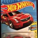 2018 Hot Wheels International Card #198 16 Cadillac ATS-V R