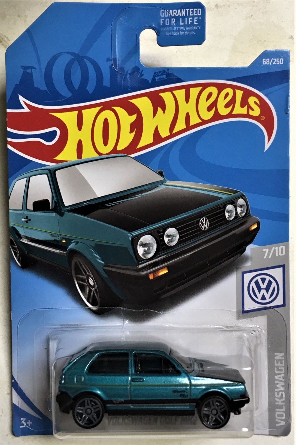 2019 hot wheels 68 volkswagen golf mk2. Black Bedroom Furniture Sets. Home Design Ideas