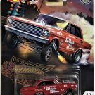2018 Hot Wheels Car Culture Drag Strip Demons #2 63 Chevy Nova