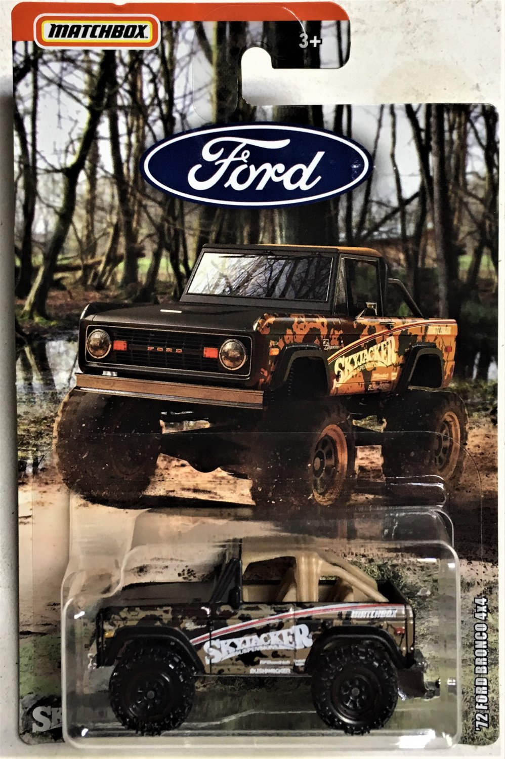 2019 Matchbox Ford #2 72 Ford Bronco 4x4
