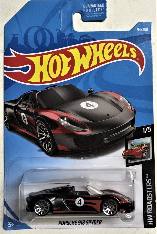 2019 Hot Wheels #94 Porsche 918 Spyder