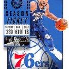 2018 Panini Contenders Basketball Card #15 Ben Simmons
