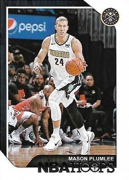 2018 Hoops Basketball Card #62 Mason Plumlee