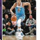 2018 Hoops Basketball Card #67 Justin Jackson