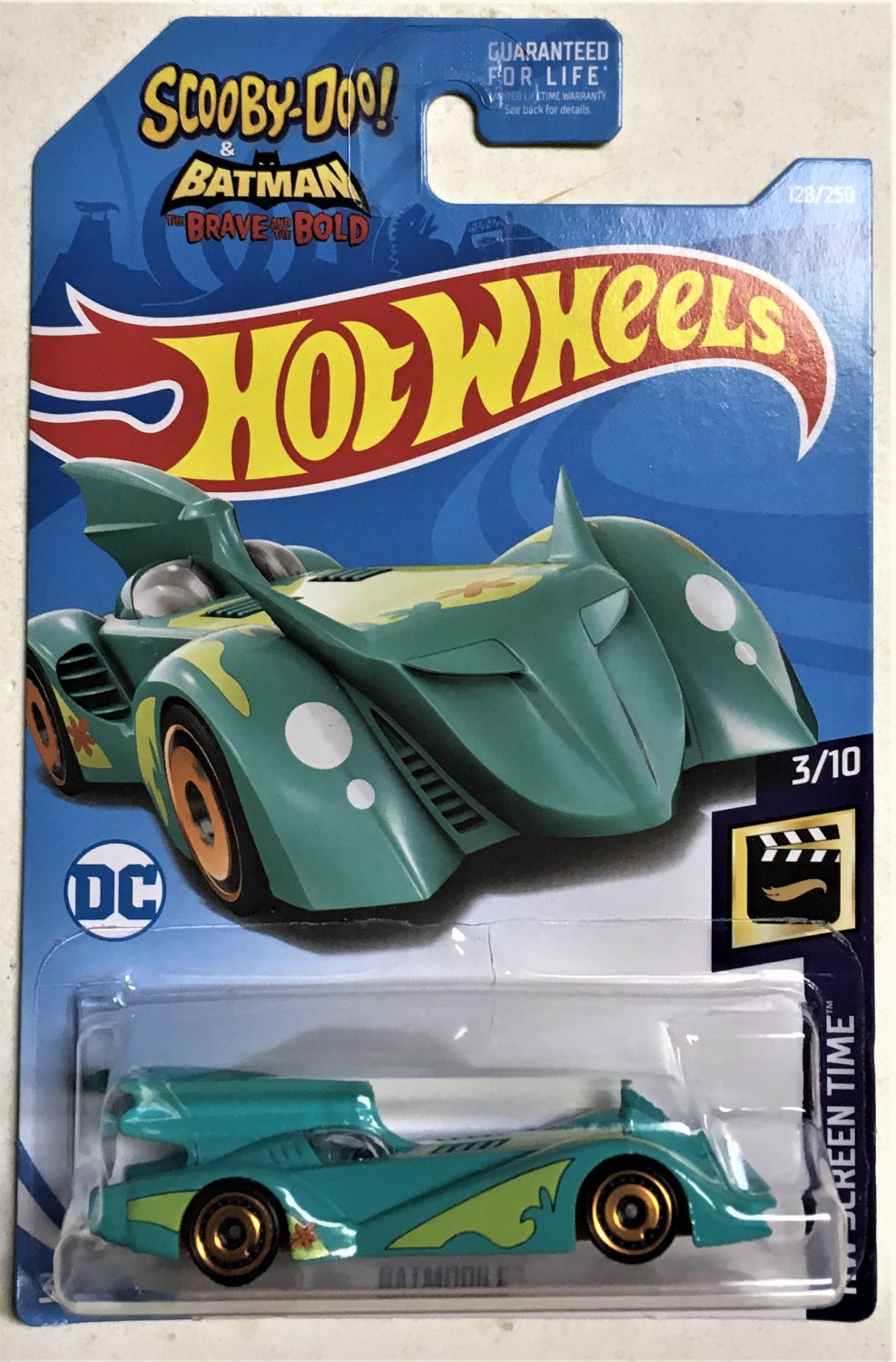 2019 Hot Wheels #128 Batmobile