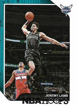 2018 Hoops Basketball Card #109 Jeremy Lamb