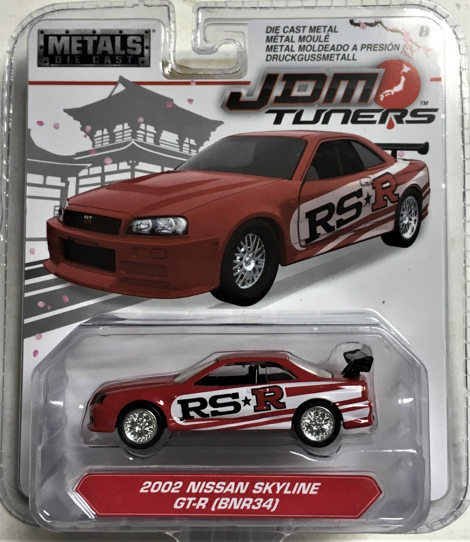 2018 Jada JDM Tuners #6 2002 Nissan Skyline GT-R